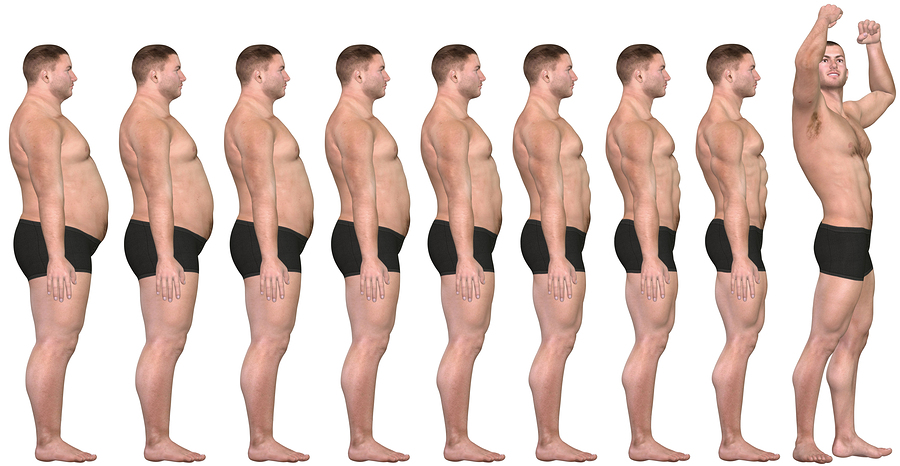 Фитнес тренировки и питание для похудения